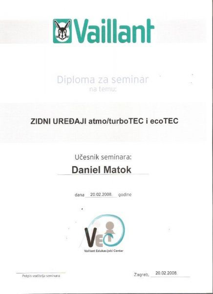 BojlerPlin-certifikat